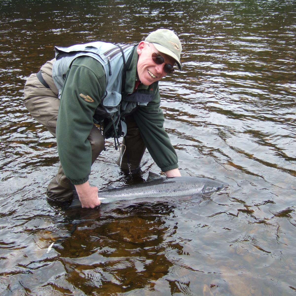 3 day salmon fishing course dalmarnock water tay new for Salmon fishing colorado